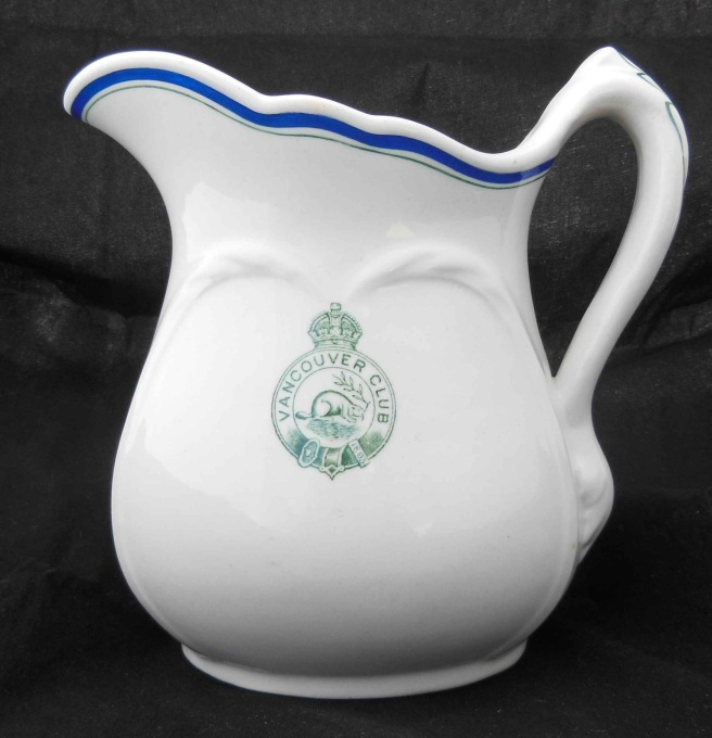 Vancouver Club Cream Pitcher